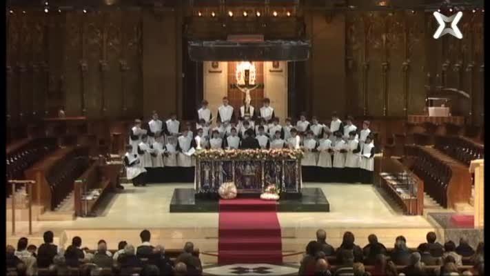 Missa de Montserrat, 8 de desembre, Solemnitat de la Immaulada