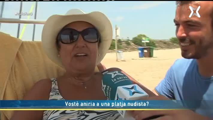 Aniries a una platja nudista?