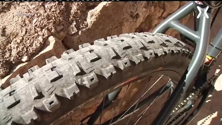La cursa de bicicletes d'Enduro