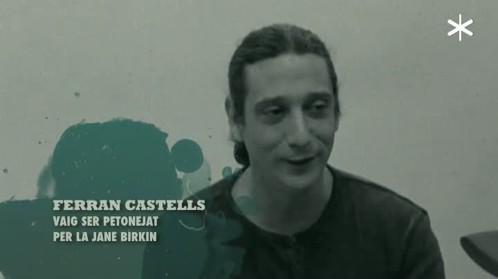 Ferran Castells va ser petonejat per la Jane Birkin?