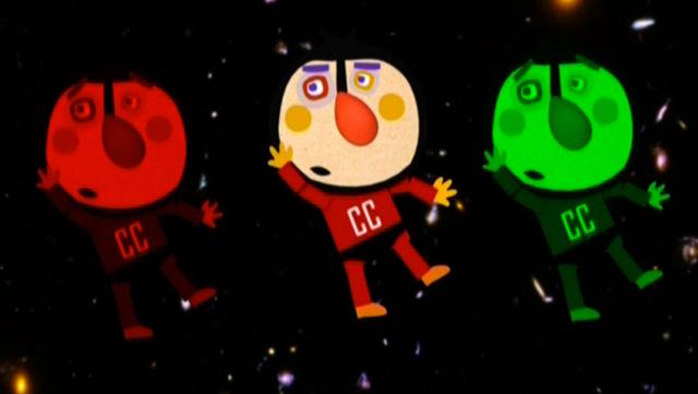 El Capità Cisterna a la galàxia copi-copi