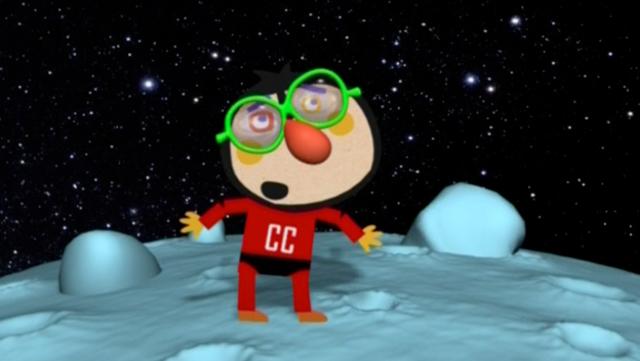 El Capità Cisterna amb ulleres