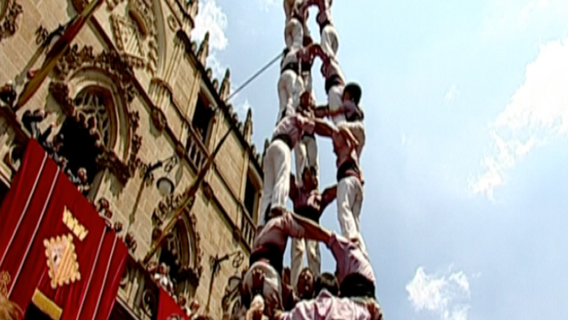 Colla Castellera de Sant Pere i Sant Pau. Tarragona