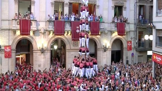 Concurs castells de Tarragona, Castellers Vilafranca a Cracòvia i Homenatge Lluís Barrera