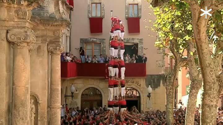 Diades del Vendrell, Diada de Les Corts i Diada dels Xiquets de Vilafranca
