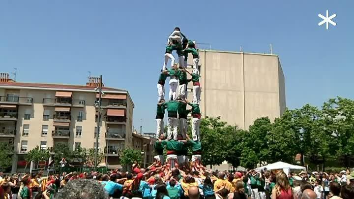 Places castelleres de Reus, Sabadell i Barcelona