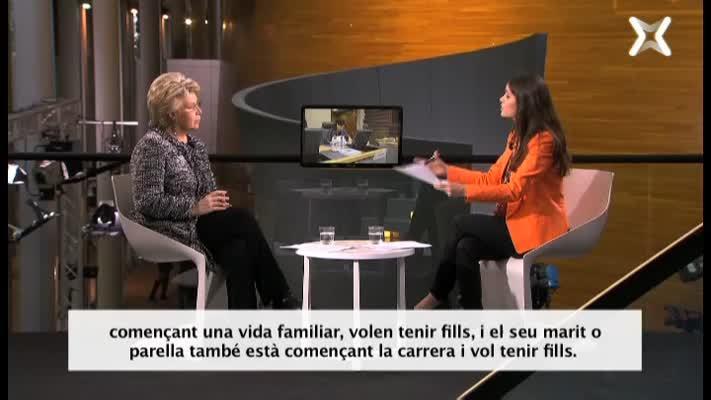 13. Viviane Reding i les quotes de gènere