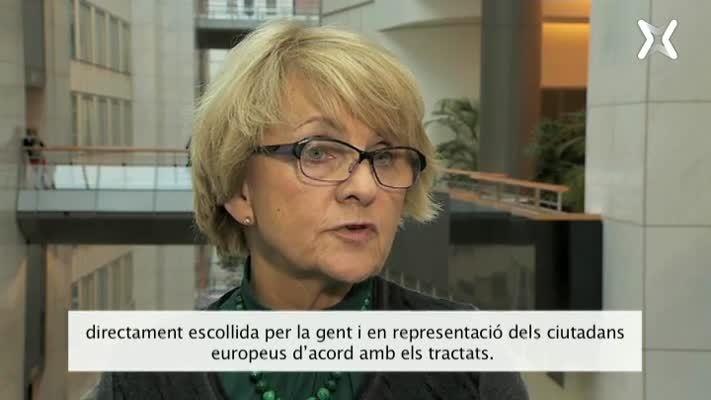 2.1 Entrevista Danuta Hübner, cara a cara Unió Democràtica - Ciutadans