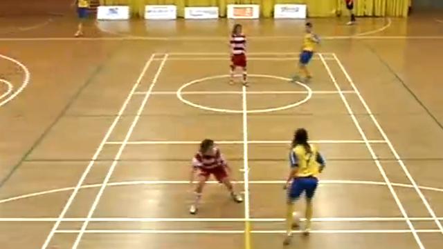 Divisió d'honor femenina futbol sala - 1a part