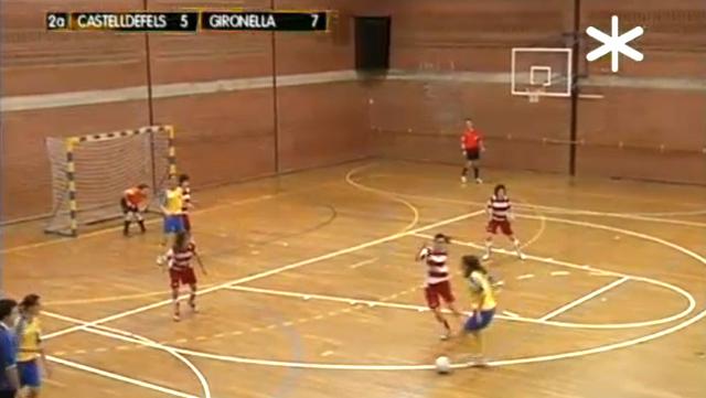Divisió d'honor femenina futbol sala - 2a part