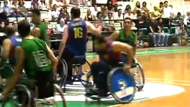 Final Lliga Catalana de Bàsquet en cadira de rodes - 2a part