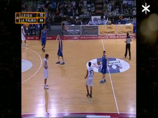 Lliga Adecco Or: Lleida Basquetbol - UB La Palma