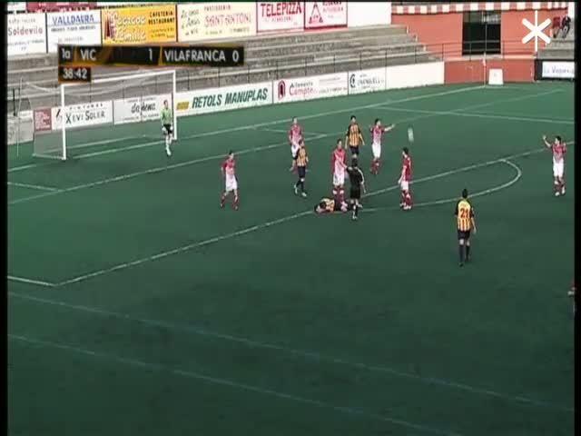 Tercera Divisió: UE Vic - FC Vilafranca - Part 1