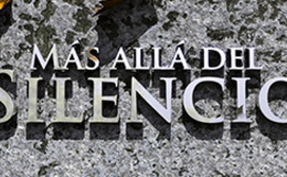 Imagen de MÁS ALLÁ DEL SILENCIO en Aragón TV
