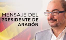 Imagen de MENSAJE DEL PRESIDENTE DE ARAGÓN