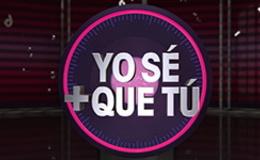 Imagen de YO SÉ + QUE TÚ