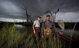 Imagen de Cazadores del pantano