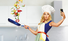 Imagen de Una chef en casa en Atresplayer