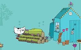 Imagen de Wussywat the Clumsy Cat en CBeebies