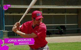 Imagen del vídeo Jorge Miqueleiz, beisbolista - Beber agua en entrenamientos
