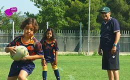 Imagen del vídeo Ricard y Marc, futuras estrellas del rugby