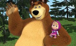 Imagen de Masha y el oso en Clan TVE