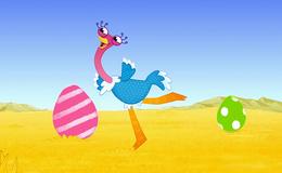 Imagen de Olive la pequeña avestruz