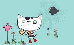 Imagen de Wussywat el gato patoso en Clan TVE