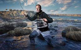 Imagen de Pesca extrema con Robson Green en DPlay