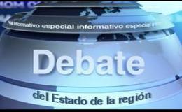 Imagen de Debate del estado de la región 2016 en Canal Extremadura