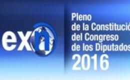 Imagen de Especial Informativo Constitución del Congreso de los Diputados 2016 en Canal Extremadura
