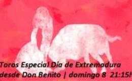 Imagen de Toros Especial Día de Extremadura desde Don Benito en Canal Extremadura