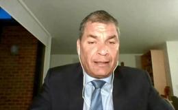 Imagen del vídeo El expresidente de Ecuador, Rafael Correa Delgado