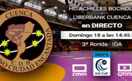 Imagen de Balonmano Copa EHF: Liberbank Cuenca - Achilles Bocholt en Castilla - La Mancha Media