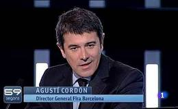 59 Segons Ha Entrevistat Tamb El Director General De La Fira Barcelona Agust Cordn Que Destacat Bona Salut Instituci I Seva