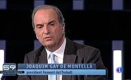 59 Segons El Programa Danlisi I Debat De TVE Catalunya Ha Convidat Aquesta Setmana President La Patronal Foment Treball Joaquim Gay