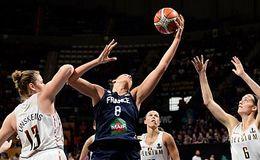 Imagen del vídeo Baloncesto - Campeonato del Mundo Femenino 2018. 1/4 de Final: Bélgica - Francia