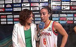 Imagen del vídeo Baloncesto - Campeonato del Mundo Femenino 2018. Postpartido España - Puerto Rico