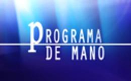 Imagen de Programa de mano en RTVE