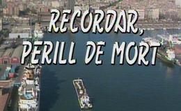 Imagen de Recordar, perill de mort en RTVE