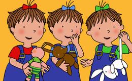 Imagen de Les tres bessones bebès en Super 3
