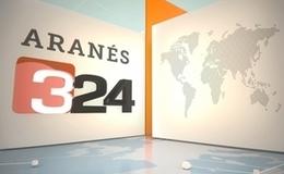 Imagen de Roda 3/24 en aranès en TV3 (Cataluña)