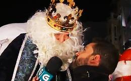 Imagen de Cabalgata de Reis en TVG (Galicia)