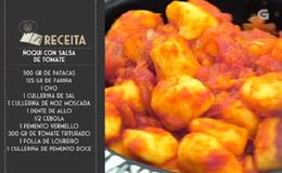 Imagen del vídeo Ñoquis con salsa de tomate - 09/11/2018 11:00