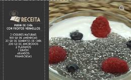 Imagen del vídeo Pudin de chía con froitos vermellos - 15/11/2018 11:00