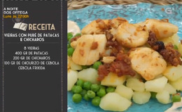 Imagen del vídeo Vieiras con puré de patacas e chícharos - 14/11/2018 11:00