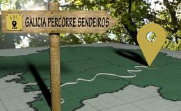 Imagen de Galicia percorre sendeiros