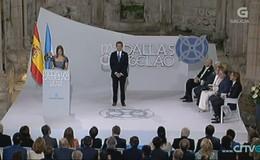 Imagen de Medallas Castelao en TVG (Galicia)