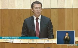 Imagen de Sesión de investidura do Presidente da Xunta en TVG (Galicia)