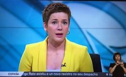 Imagen de Telexornal mediodía (xordos) en TVG (Galicia)